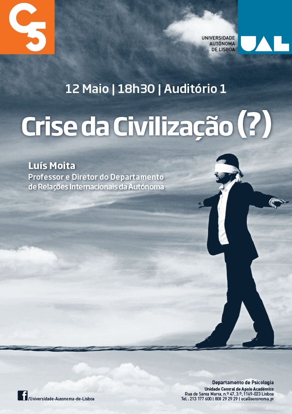 cartaz crise civilizao